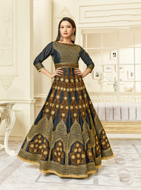 latest designer anarkali salwar suits