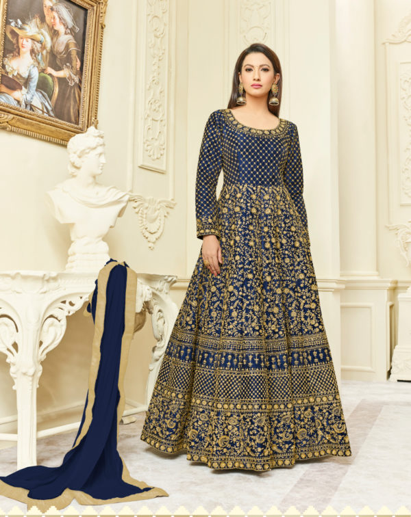 latest party wear designer anarkali salwar suits