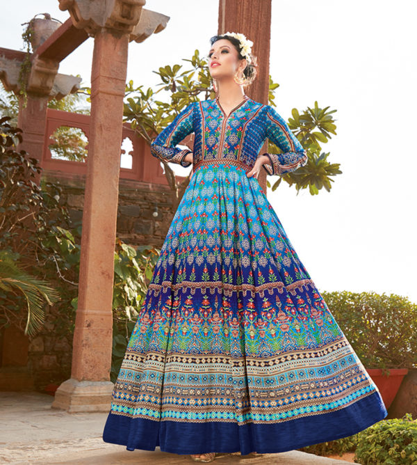Buy Satin printed Suits for women