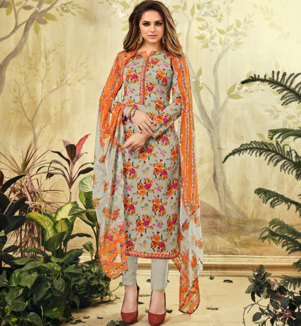 buy Safron Salwar Suits