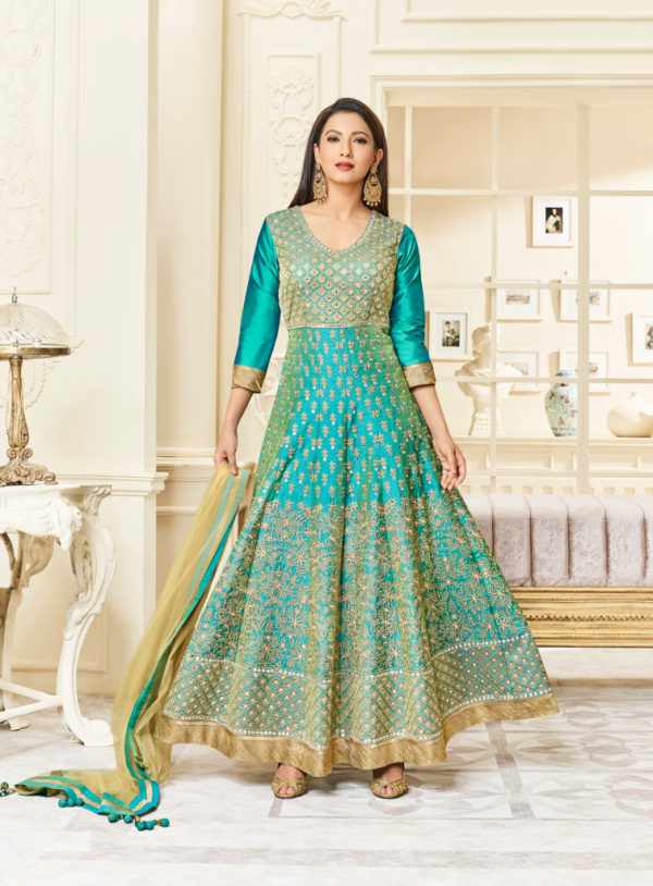 latest ethnic & party wear designer Anarkali suits for women