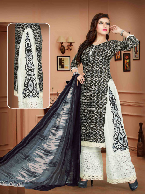 Latest Fashionable Plazo Salwar Suits for Women at Shahbeez, Abids, Hyderabad