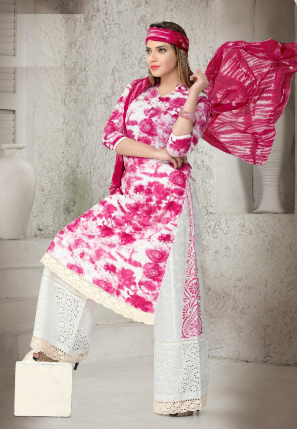 Brighten up your glam with the latest Plazo Salwar Suit from Shahbeez, Abids, Hyderabad