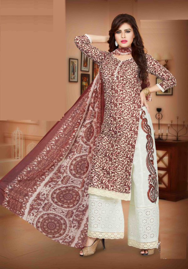 Bring out your best looks with the latest Plazo Salwar Suits at Shahbeez, Abids, Hyderabad