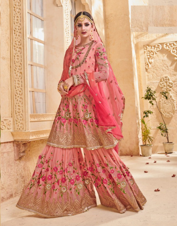 Buy latest Gharara Suits for Women at Shahbeez, Abids, Hyderabad