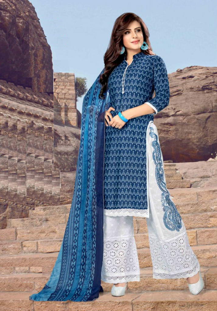 032cae9c2b Buy the latest trendy & stylish plazo salwar suits for women at Shahbeez,  Abids.
