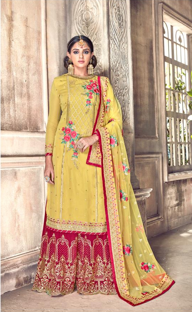 1867a2d423 Shop latest Plazo suits available at Shahbeez, Abids, Hyderabad