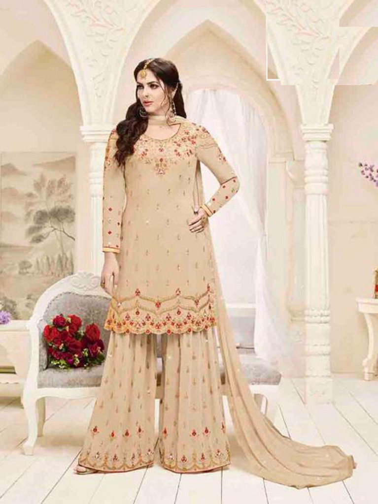 b1a63f6430 Buy latest Plazo suits available at Shahbeez