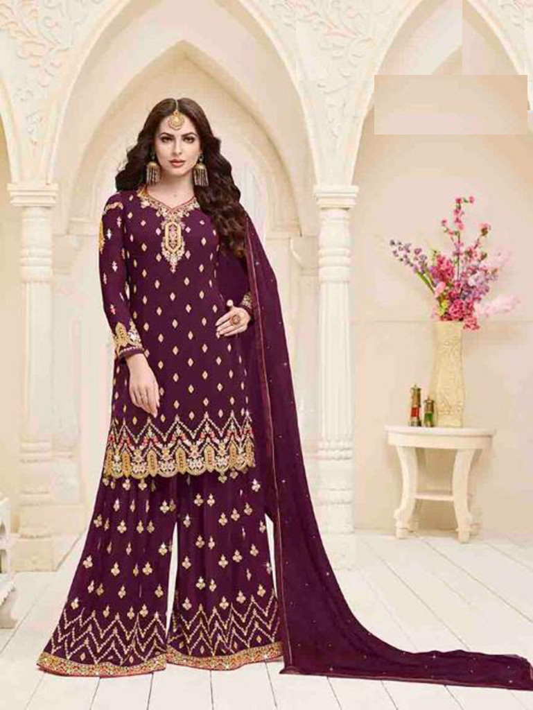 f547646011 Plazo salwar suit available at Shahbeez