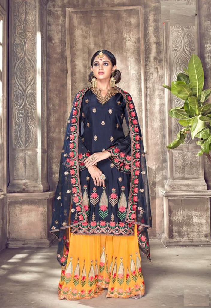 b2368a46f1 Latest plazo suit available at Shahbeez
