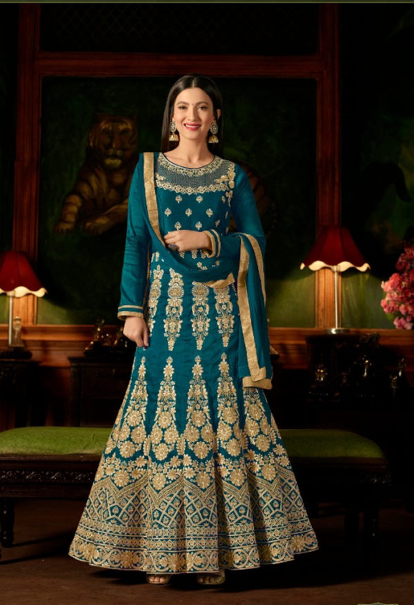 Shop new Anarkali suits available at Shahbeez, Abids, Hyderabad