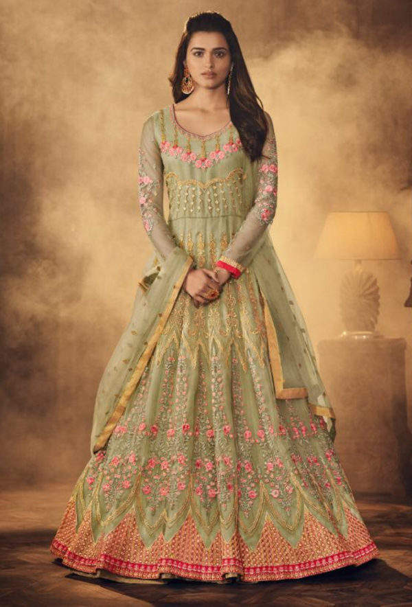 New anarkali suit available at Shahbeez, Abids, Hyderabad