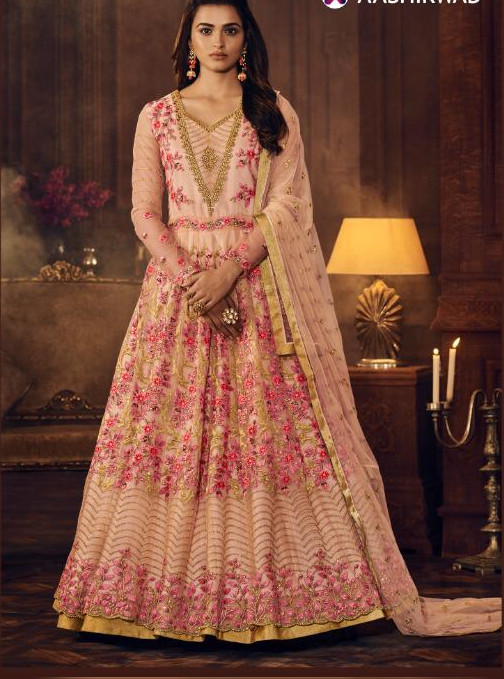 New Anarkali salwar suit available at Shahbeez, Abids, Hyderabad