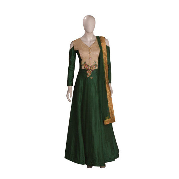 Buy new Long gown suit set available at Shahbeez, Abids, Hyderabad