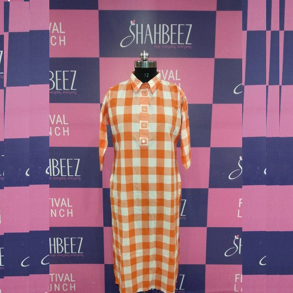 Elevate your style with this new Kurti for women available at Shahbeez,