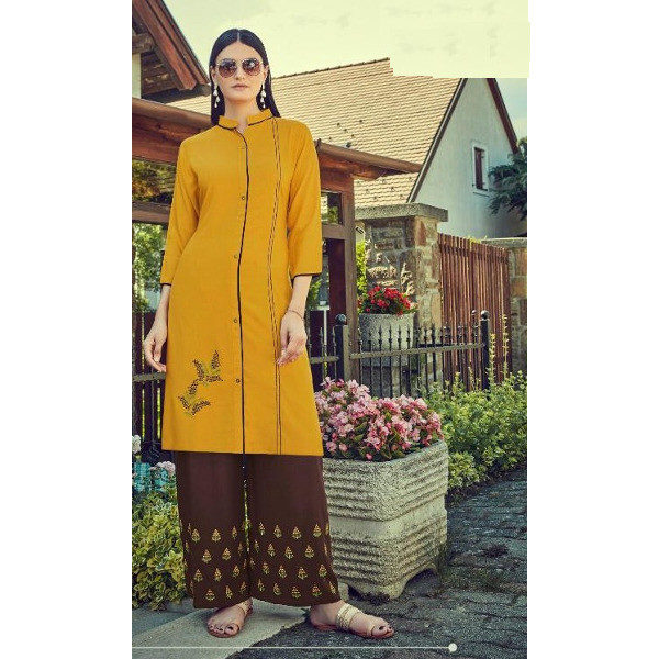 Make all your days even more fashionable with this kurti suit for women available at Shahbeez,