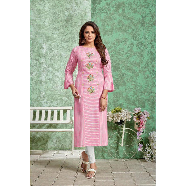 Flaunt your luminous look with this new kurti collection available at Shahbeez