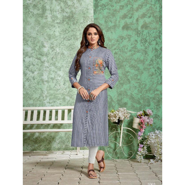 Grace your style with this latest Kurti suit for women available at Shahbeez,