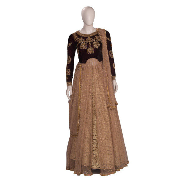Exclusive party wear suit for women available at Shahbeez, Abids, Hyderabad