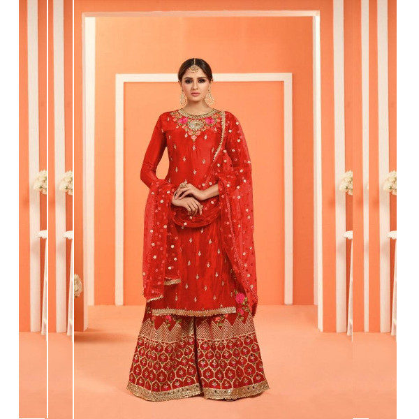 Buy new Palazzo suit for women available at Shahbeez, Abids, Hyderabad