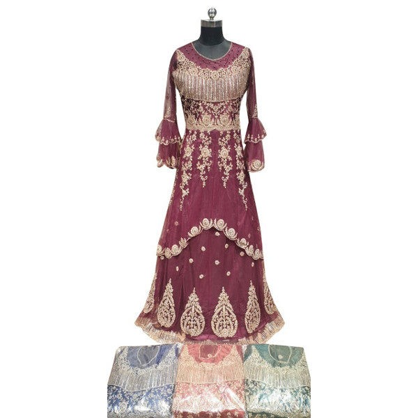 Buy new Long gown suit at Shahbeez, Abids, Hyderabad