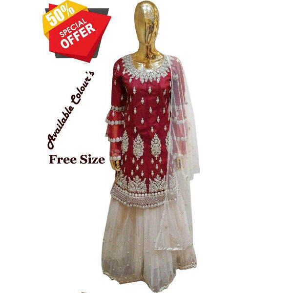 Buy new Partywear suit for women available at Shahbeez, Abids, Hyderabad