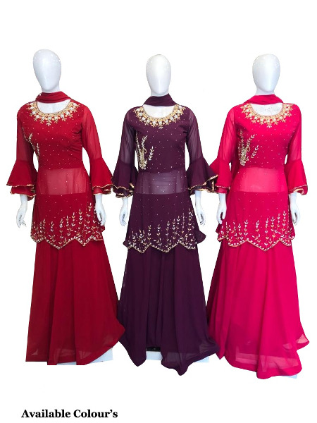 shop new partywear suit for women available at Shahbeez, Abids, hyderabad